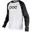 POC Raglan Langærmet trøje Herrer hvid/sort